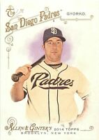 2014 TOPPS ALLEN & GINTER BASEBALL CARD - PICK / CHOOSE YOUR CARDS