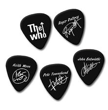 THE WHO Roger Daltrey keith John Pete signature print plectrum guitar pick picks