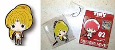 Magic Knight Rayearth Tiny Rubber Strap 02 Presea Fragments Clamp Licensed New