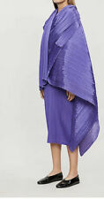 New + Tags.Issey Miyake Pleats Please Madame T Shawl/scarf/cape