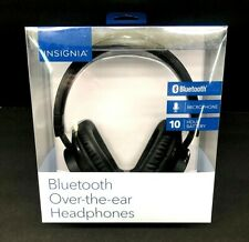 Insignia NS-CAHBTOE01 Wireless Over-the-Ear Headphones - Black