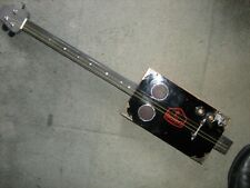 More details for used cigar box fitted with new parts to create cigar box guitar with all extras