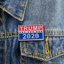Trump 2020 Pin Republican Campaign America President Badge Political Brooch