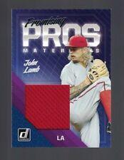 2018 Donruss Los Angeles Dodgers John Lamb Promising Pros Materials  #PPM-JO