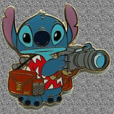 Tourist Stitch with Camera Pin - Disney Auctions Pin LE 250