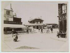 Station de Joinville. Gare. Café restaurant de Paris. 1896.