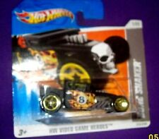2011 Hot Wheels HW VIDEO GAME HEROES BONE SHAKER 1/22,223/244 on rare short card