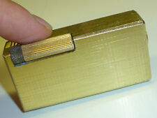 """VINTAGE liftarm Lighter with """"Sorna"""" (Swiss-Made) Watch-BRIQUET Essence-NICE"""