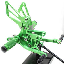 For SUZUKI GSXR1000 2000-2004 Racing Rearset Rear Sets Foot Pegs Pedals Aluminum