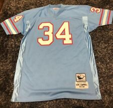 Mitchell   Ness Earl Campbell Throwbacks Jersey Size 56 Stitched sewn On 22154b516