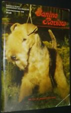 Canine Review Magazine Lakeland Terrier Cover Sept/Oct 1988