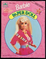 Barbie Puppe Buch, Whitman 1994, Uncut, 6 Seiten von Kleidung