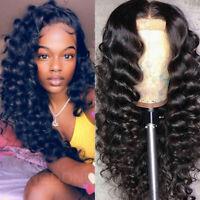 360 Lace Front Wigs Loose Body Wavy 100% Real Peruvian Human Hair Wig Baby Hair