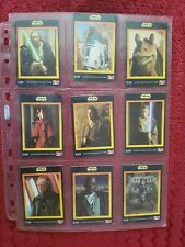 Star Wars Australian KFC Card set of 20  - mint
