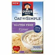 Quaker Oats Gluten Free Oat So Simple Original Porridge 350g