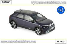 Citroën C4 Cactus 2018 Deep Purple & White deco  NOREV - NO 155477 - Ech 1/43