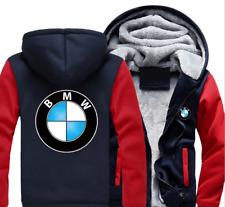 BMW Automobile Herbst und Winter Jacke Reißverschluss Jacke lässig warme Jacke