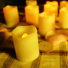 12PCS Flameless Candles LED Votive Candles with Timer 400 Hours Battery Life