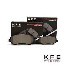 FRONT + REAR NEW Premium Ceramic Disc Brake Pad Set With Shims KFE1327 KFE1274