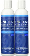 2 x Ancient Minerals Magnesium Lotion Ultra 237ml New in box