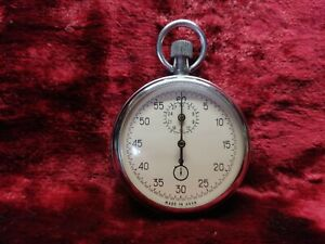 Analogue Stopwatch Mechanical Crown Stopper from USSR