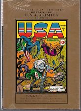 MARVEL MASTERWORKS GOLDEN AGE U.S.A. COMICS VOL 1 HARDCVR GN TPB WWII ERA SEALED