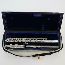 Verne Q. Powell Handmade Flute Solid Silver Soldered Tone Holes SN 1868 AWESOME