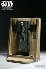 Sideshow Star Wars HAN SOLO in Carbonite 1/6 Scale Diorama