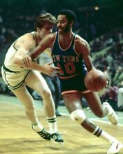 WALT FRAZIER 8X10 PHOTO NEW YORK KNICKS NY BASKETBALL NBA VS BOSTON CELTICS
