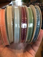 "New Stampin Up Double Stitched Ribbon 3/8"" 15 yds ~Assorted Colors: you choose!~"