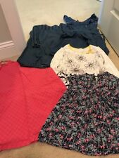 Mixed Lot Gymboree, Forever 21 & Hanna Andersson Very Cute Clothes In Sz 10/12