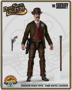 "Dime Novel Legends 1:18 scale (4"") old west action figure Sheriff"