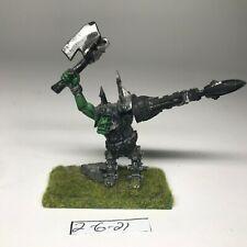 Warhammer 40k Ork  - Ork Mek   - Custom Ork Mek with metal Legs