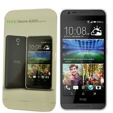 BNIB HTC Desire 620G Dual-SIM 8GB Grey/Light Grey Trim Factory Unlocked 3G GSM