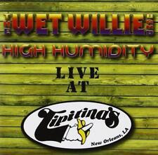 THE WET WILLIE BAND - HIGH HUMIDITY Live At Tipitana's LA (New & Sealed) CD