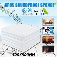 12/24X Studio Acoustic Foam Sound Absorbtion Proofing KTV Room Panel