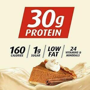 Premier Protein 30g Protein Shake, Pumpkin Spice, 11.5 Fl Oz, Pack 12 KOSHER