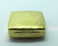 Ladies magnificant  Estate Piece 18K Yellow Gold Tiffany & Co Pill Box hand made