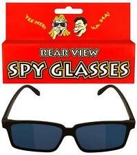 NEW REAR VIEW SPY GLASSES MIRROR LENSES.YOU CAN SEE BEHIND YOU!! HB