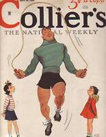 1935 Colliers April 20-Baseball;Chesterton;Rohmer;Bugs