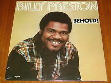 BILLY PRESTON - BEHOLD! - R&B GOSPEL SOUL 1978 STILL FACTORY SEALED LP ! ! ! !