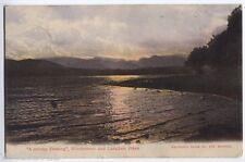 Lake Windermere & Langdale Pikes, Cumbria, England vintage Postcard