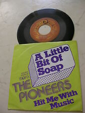 The Pioneers a little bit of soap * RARE GERMAN Trojan cover and vinyl 1973 *