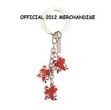 Jeux Olympiques Londres 2012 Union Jack 3 drop charmes porte-clés officiel souvenir olk028