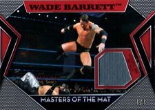 WWE Wade Barrett RED Topps 2011 Masters of Mat Event Used Relic Card SN 1 of 1