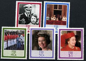 Fiji 1986 SG#714-8 QEII 60th Birthday MNH Set #D41081