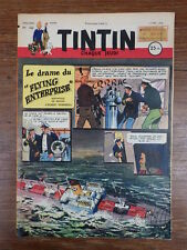 JOURNAL TINTIN ANNEE 1952 Numéro 186 Couverture WEINBERG Bel exemplaire