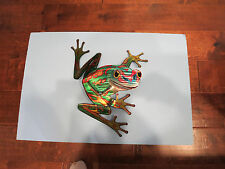 NEXT INNOVATIONS-3D JQ Frog Wall Art Decor-Indoor or Out-New