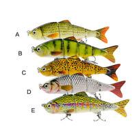 4 Segment Swimbait Lures Fishing Bait Fishing Lure Crankbait Hook Bass Crankbait