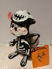 "Annalee Dolls 2006 Halloween 6"" Skeleton Trick Or Treat Mouse"